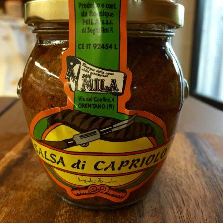 Salsa di Capriolo