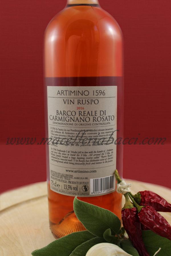 Vin Ruspo – Barco Reale di Carmignano Rosato Docg